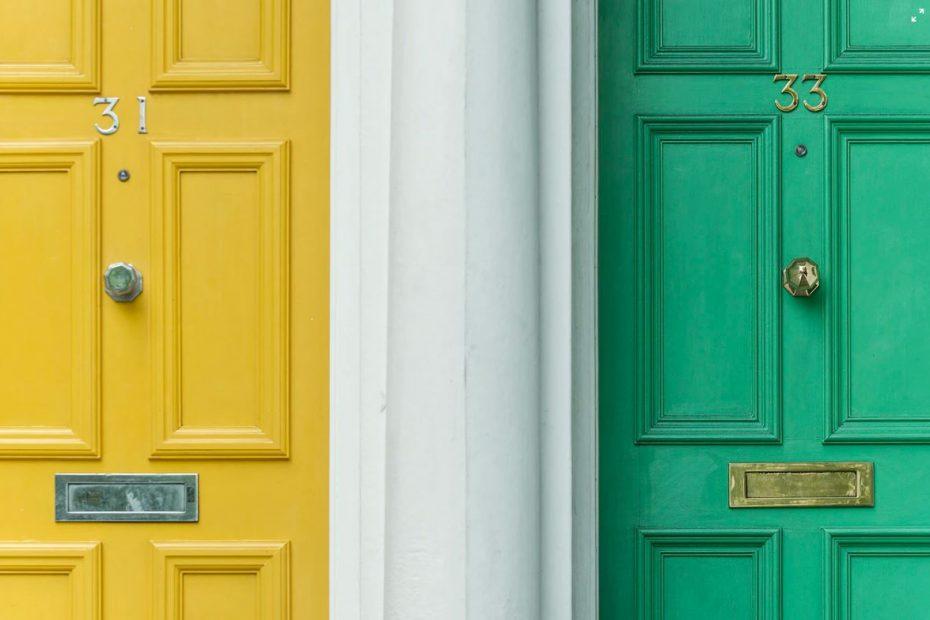 Puertas vecinos comunidad propietarios